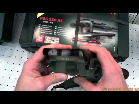 Bekend Bosch PSS 250 AE Schwingschleifer - YouTube LQ52