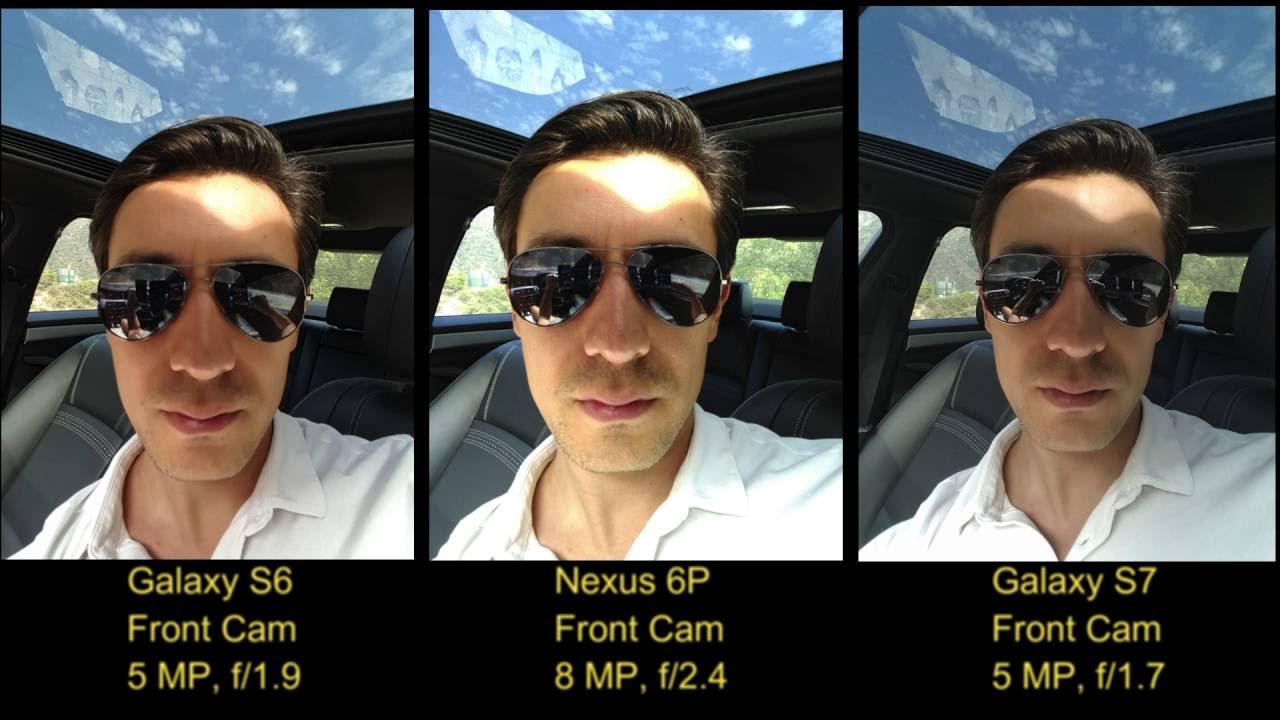 Selfie Camera Test: Galaxy S6 vs. Nexus 6P vs. Galaxy S7 ...