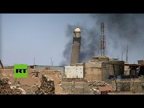 Irak: El Estado Islámico hace explotar la principal mezquita de Mosul