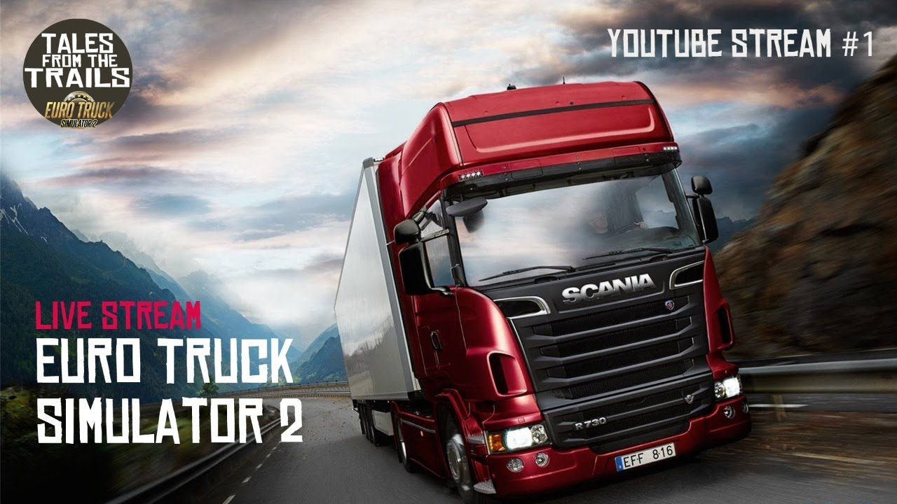 Live Gameplay: Euro Truck Simulator 2 (Lille to Dover)