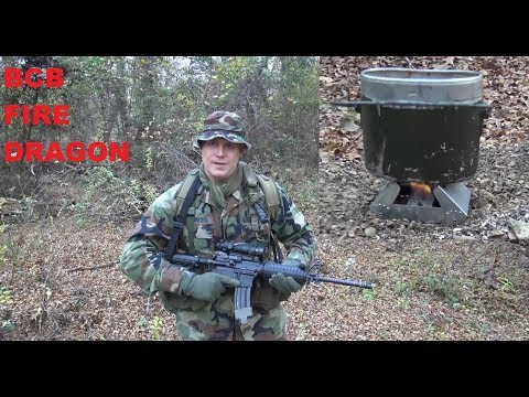 INDIVIDUAL INFANTRY FIELD STOVE: BCB Fire Dragon