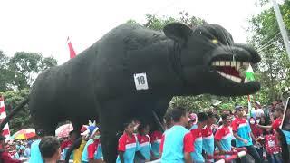 Wonderful Indonesia - Karnaval HUT Kemerdekaan k2 72 RI Ngipik - pring surat #6