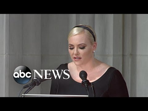 Meghan McCain tribute to John McCain