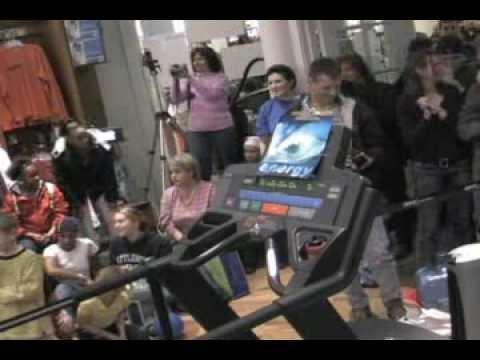 Go the Distance TV presents Super 5K Treadmill World Record