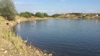 Озеро соляне Калуш(Лікувальна ропа в соляних озерах Калуша., 2016-08-04T18:13:21.000Z)