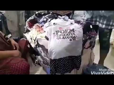 ขายส่งเสื้อผ้าเด็กมือสอง รีวิวกระสอบเดรส เอี้ยม เด็ก แปดดาว 100กก. ประมาณ500ชิ้น
