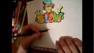 Граффити урок №2(как рисовать в Бабл стиле)(Всем привет ребята!Это мой второй граффити урок! на тему:Как научиться рисовать граффити в Бабл стиле! Урок..., 2013-02-09T13:33:40.000Z)