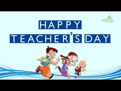 Chhota Bheem & Teacher's Day Celebrations   English