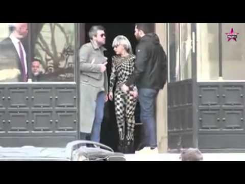 Lady Gaga Visits Museums in Paris.