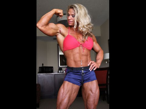 women Sexy body builder