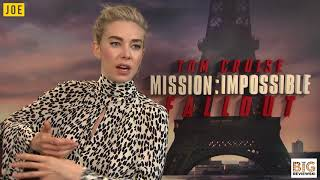 Vanessa Kirby loved bossing an army of Peaky Blinders Tom Hardy men in Mission: Impossible - Fallout