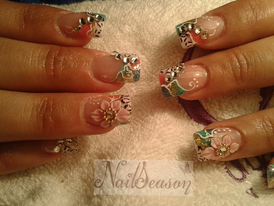 diseños y decoracion de uñas primavera 2017 / nail art designs , YouTube