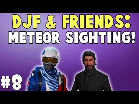 DJF & Friends: Meteor Sighting! | Fortnite Duo Victory Royale! #8