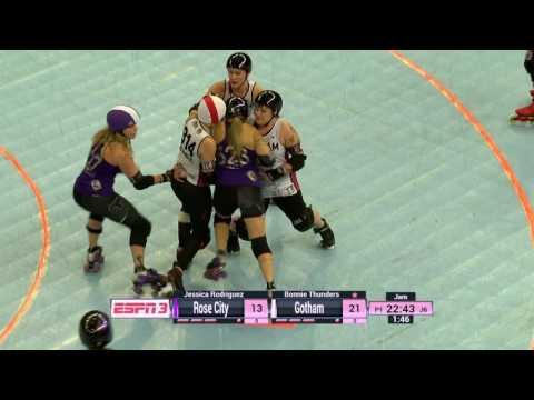WFTDA Roller Derby HD - 2016 D1 Championships: Rose City vs. Gotham Girls Roller Derby