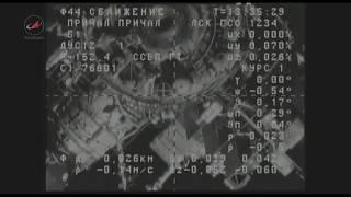 """Стыковка ТГК """"Прогресс МС-08"""" с МКС"""