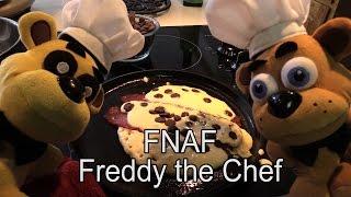 "FNAF plush episode 37 - Freddy the Chef ""Super pancake"""