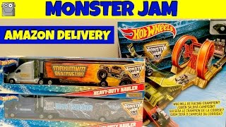 monster jam amazon delivery