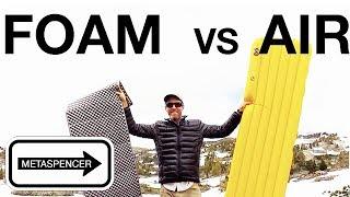 FOAM vs. AIR Sleeping Pads