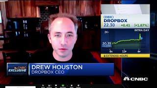 Dropbox CEO: We've seen more demand, engagement up