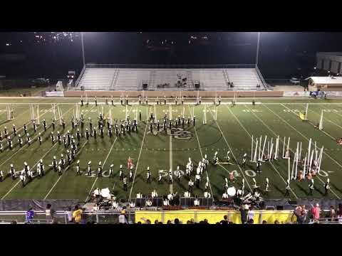 "Oak Grove High School Warrior Band ""Trapped"" 2017"