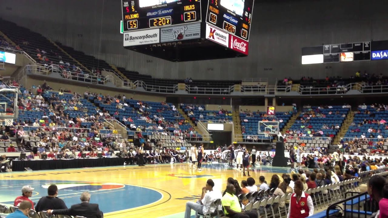 New Orleans Pelicans Amp Atlanta Hawks Game In Biloxi Youtube