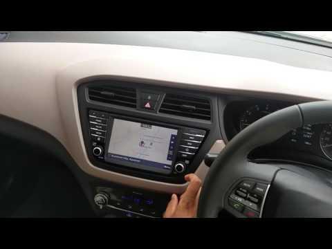Hyundai i20 Asta O AVN review 2016 Model