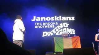 Janoskians - The Brooks Brothers Dating Game Dublin