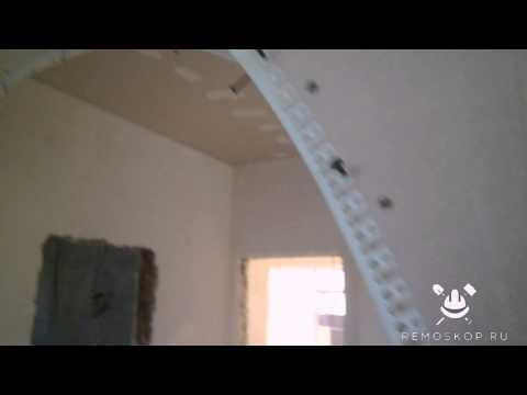 видео: Отделка арки