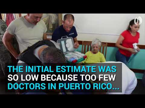 Hurricane Maria's Death Count In Puerto Rico Higher Than Initially Estimated