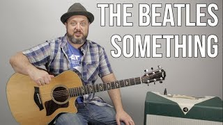 The Beatles Something Guitar Lesson, Tutorial