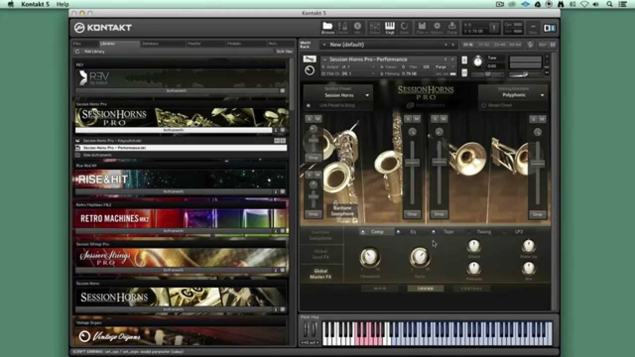 session horns torrent