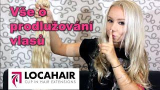 Typy a metody prodlužování vlasů│s Locahair│Kate Wednesday