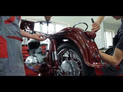 MOTOREN - Renovácia JAWA 353