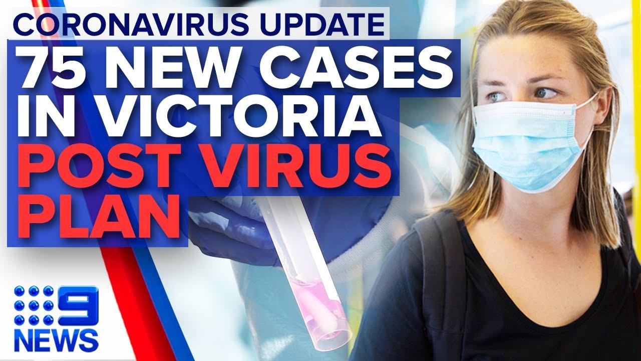 Coronavirus: Victoria records 75 new ...