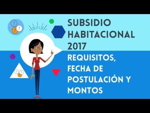 Subsidio Habitacional 2017 Chile