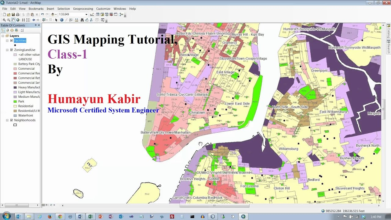 what is gis mapping pdf
