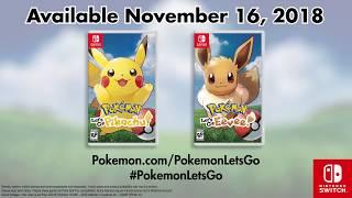 Pokémon: Let's Go, Pikachu & Eevee! Trailer #2