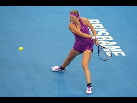 2016 Brisbane International Second Round | Victoria Azarenka vs Ysaline Bonaventure | WTA Highlights