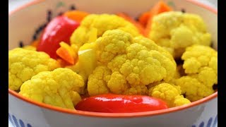 маринованная цветная капуста быстрого приготовления рецепт от