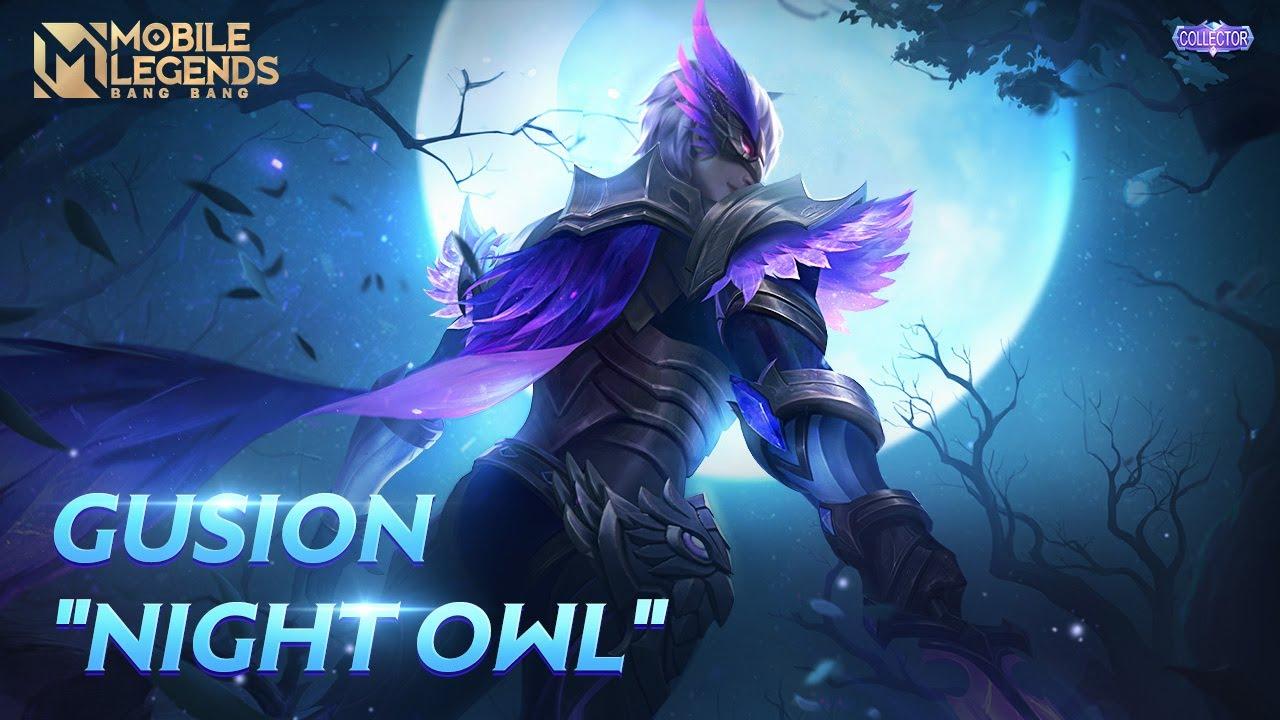 Gusion New COLLECTOR Skin | Night Owl | Mobile Legends: Bang Bang