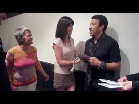Meet and greet and singing with lionel richie brisbane 2011 youtube meet and greet and singing with lionel richie brisbane 2011 m4hsunfo