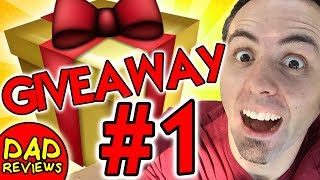 Giveaway #1 - Did you win our first content on Dad Reviews?