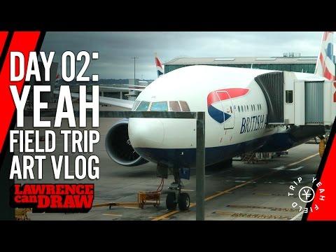 Yeah Field Trip artist's vlog – Day 02