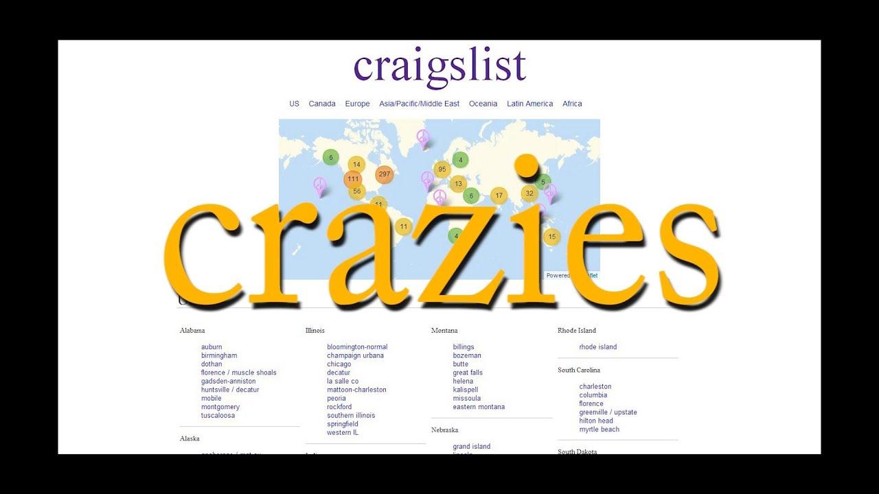Craigslist Crazies