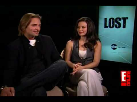 LOST SEASON 6 SPOILER  Josh Holloway & Evangeline Lilly SAY NO MORE SMUTTY LOVE TRAINGLE :