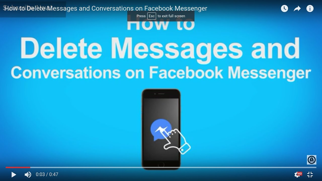 how to read message from messenger