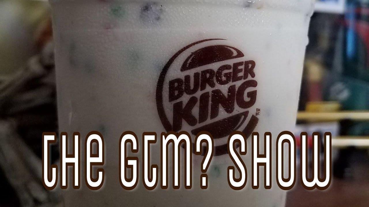 GTM Burger King Froot Loops Milkshake YouTube
