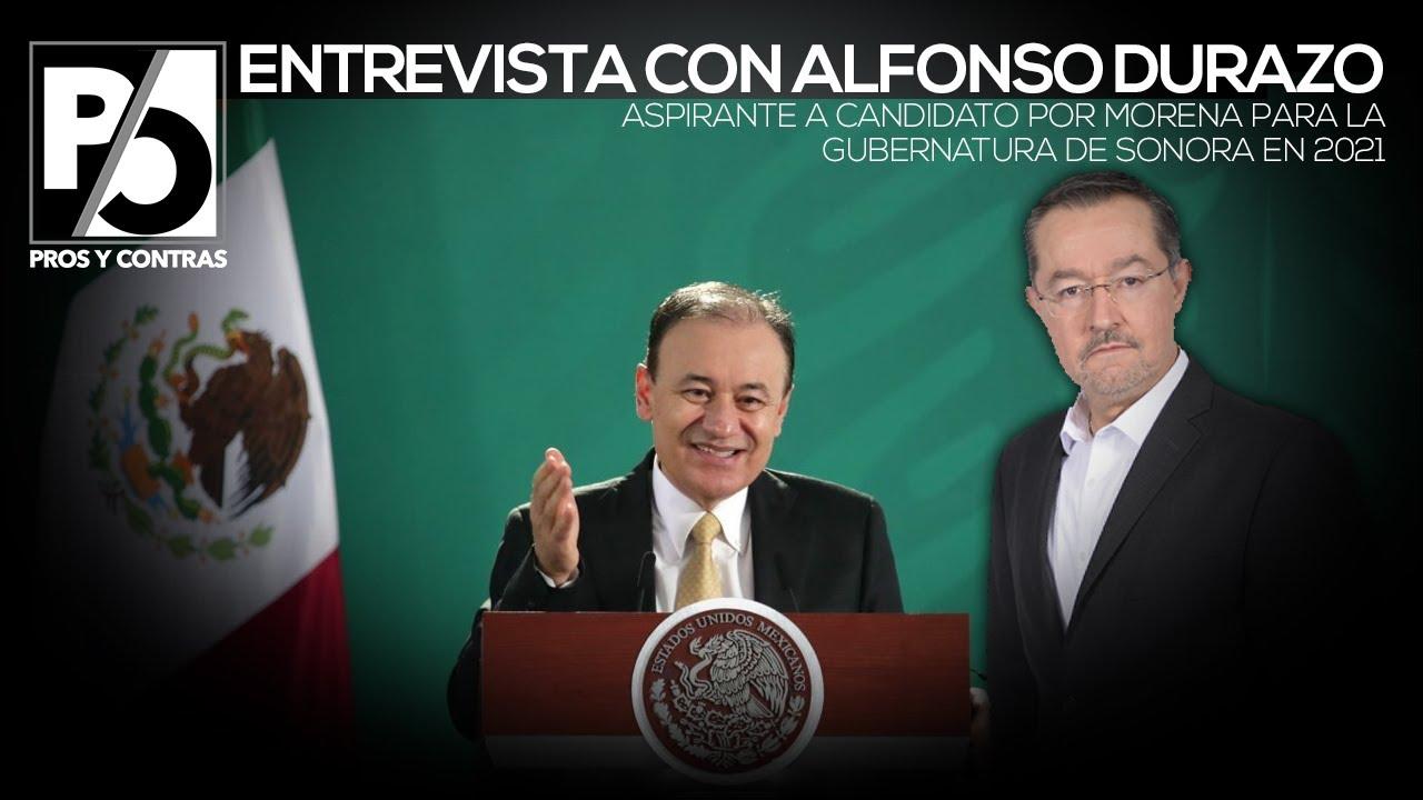 PROS Y CONTRAS | Aspirantes a la gubernatura en 2021: Alfonso Durazo Montaño (Programa completo)
