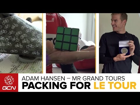 How To Pack For The Tour De France With Adam Hansen, 'Mr Grand Tours'