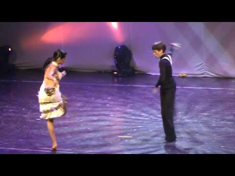 Yiddish music, Sisters Barry, Dance videos, Michael Lerner & Marika Odikadze.MPG